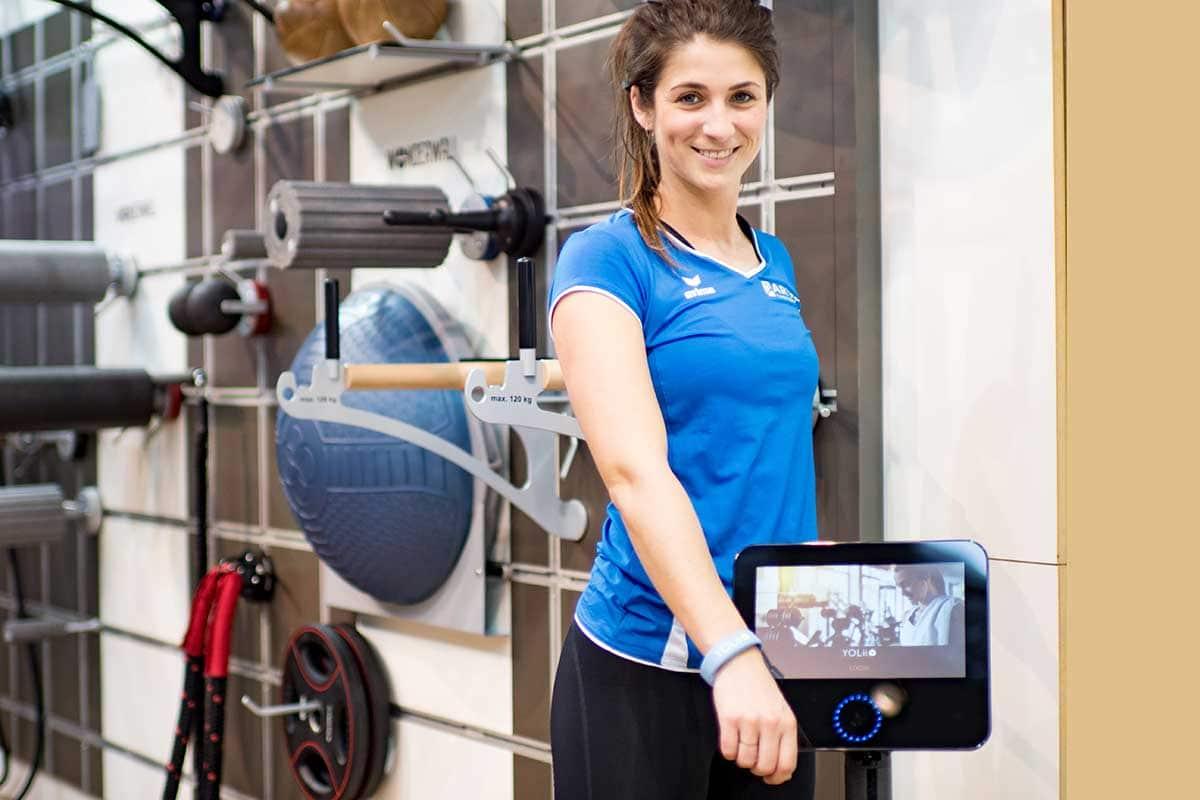 YOLii, das Trainungssystem für Physiotherapeuten und Fitnesscenter