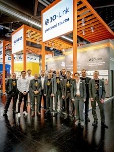 Team Kunbus und Team erminas auf der SPS 2019