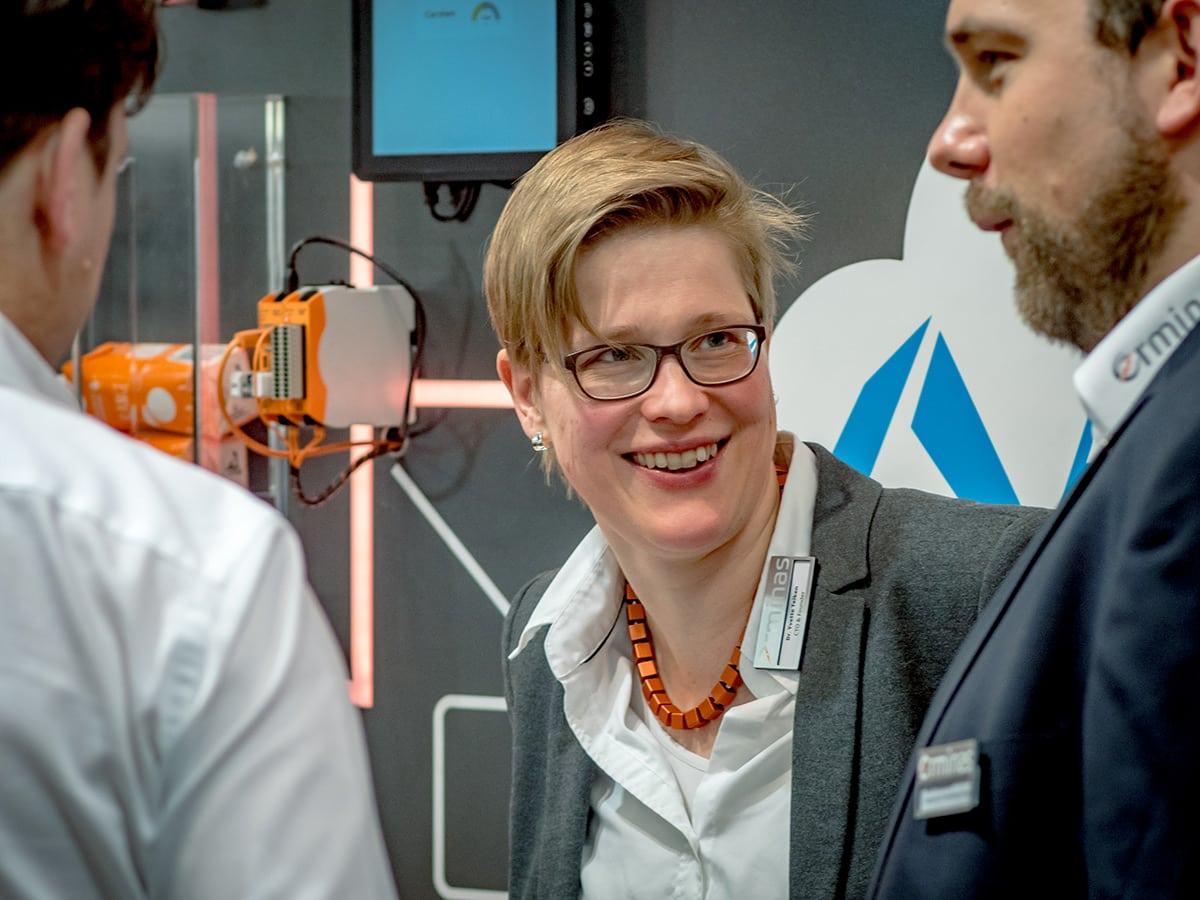 Dr. Yvette Teiken, CTO erminas GmbH